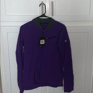 Purple Nike dri-fit jacket .